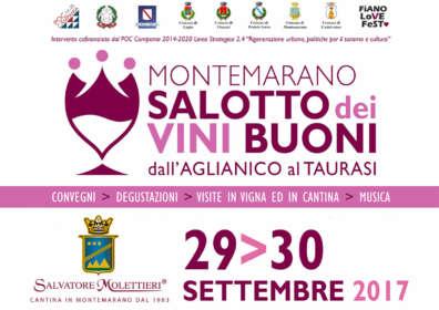 In Montemarano the Salotto dei Vini Buoni with Molettieri