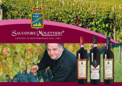 Salvatore Molettieri Winery selected by the guide Vini buona d'Italia 2018