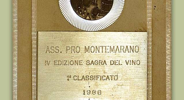 """4ª edizione """"Sagra del Vino"""" a cura dell'Associazione """"Promontemarano"""": 1° classificato"""
