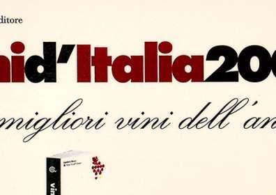 """Gambero Rosso Slow Food Editore: I migliori vini dell'anno a Taurasi DOCG """"Vigna Cinque Querce"""" 2001"""