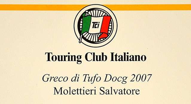 I Vini Buoni d'Italia: Golden Star a Greco di Tufo DOCG 2007