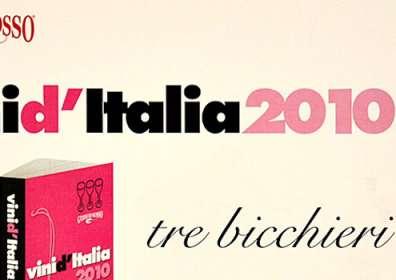 """Vini d'Italia Gambero Rosso: 3 Bicchieri a Taurasi DOCG Riserva """"Vigna Cinque Querce"""" 2004"""