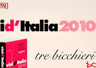 """Vini d'Italia Gambero Rosso: 3 Bicchieri a Taurasi DOCG """"Vigna Cinque Querce"""" 2005"""