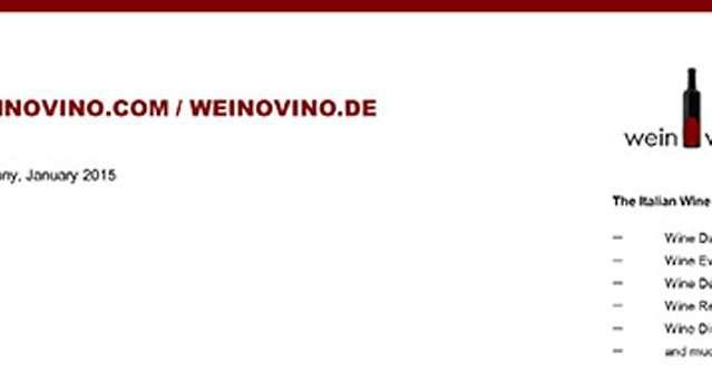 Weinovino Award 2014: Salvatore Molettieri Irpinia Rosso DOC Ischa Piana 2007