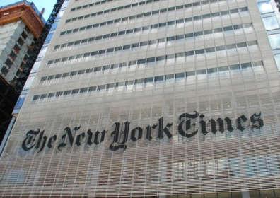 Il New York Times per Salvatore Molettieri
