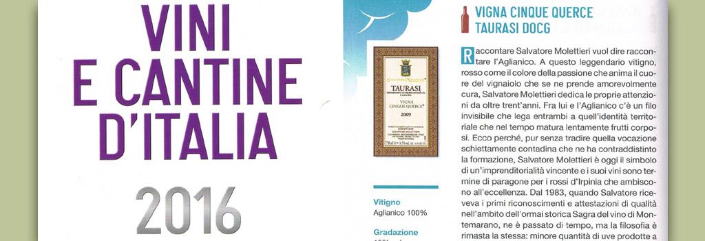 Vini e Cantine d'Italia – 2016