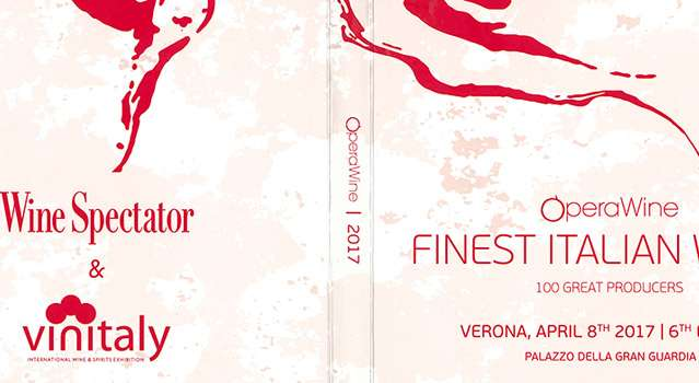 Opera Wine Finest Italian Wines 2017