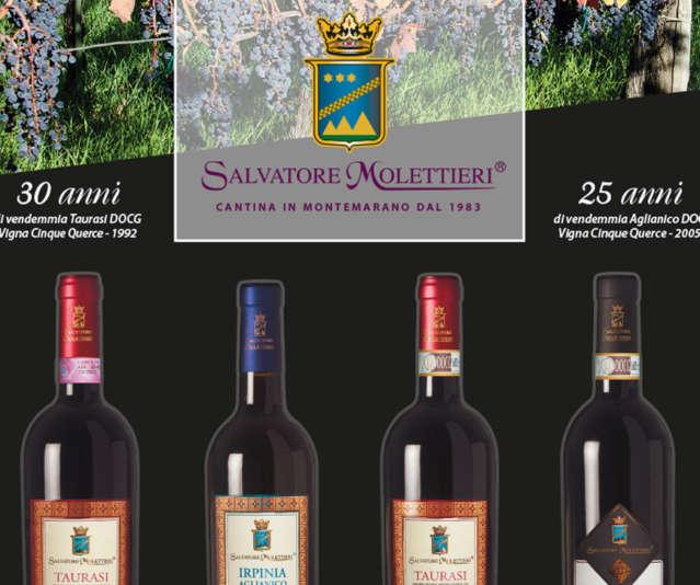 L'azienda Vitivinicola Salvatore Molettieri sarà presente al Vinitaly per la sua 53ª edizione